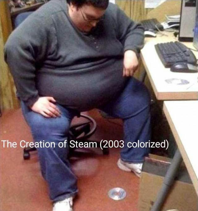 Создание Steam (фото в цвете, 2003)