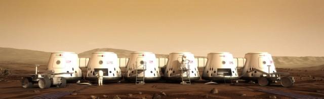 Mars One — человеческая колония на Марсе к 2023 го