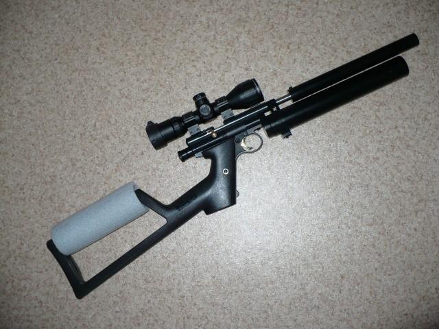 Собрал очередную ПЦП винтовку