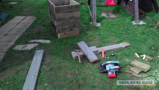 Строим сарай на даче