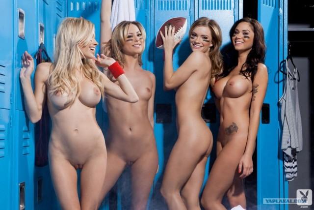Группа поддержки девушек голых фото