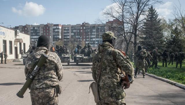 Блокада Славянска: названа цель второго этапа спец