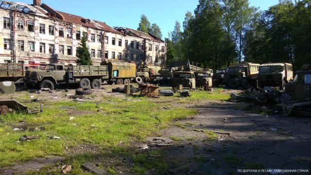 Кладбище военной техники