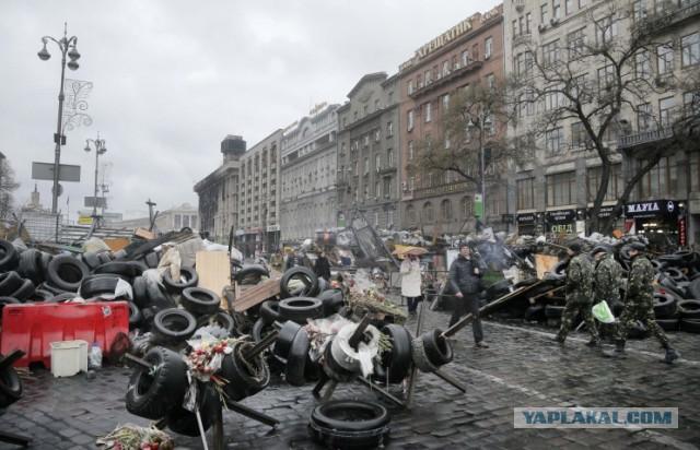 В Киеве начался митинг против новой власти