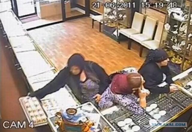 Ограбление ювелирного магазина в Румынии