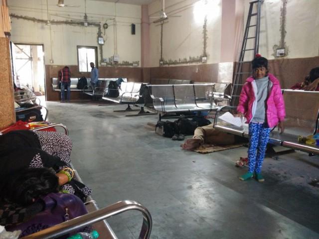 Как я свой поезд в Индии прозевал