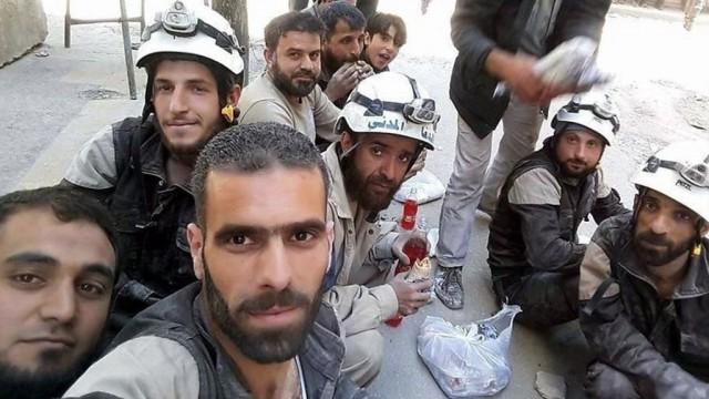 Задержаны белые каски в Сирии.