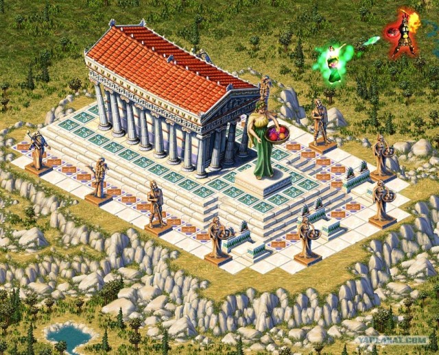 Скриншот 5 игры Zeus: Master of Olympus / + Poseidon: Master of Atlantis.