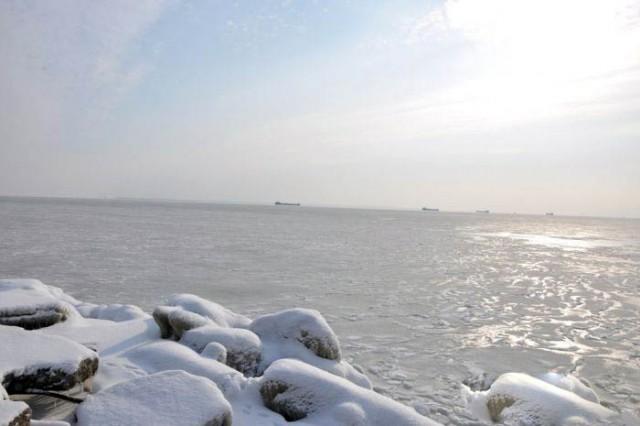 Черное море... замерзло!