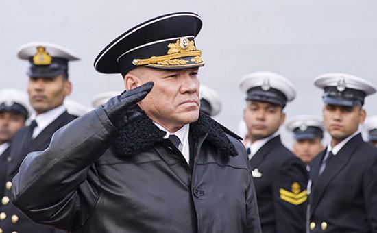 Шойгу отстранил командующего Балтфлотом за упущения в боевой подготовке