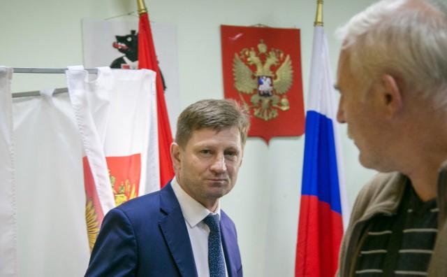 Действующий губернатор-единоросс проиграл выборы в Хабаровском крае