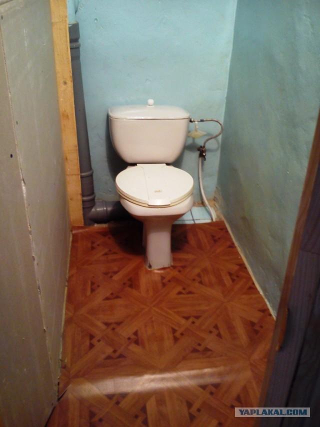 Ремонт второго этажа (Туалет)