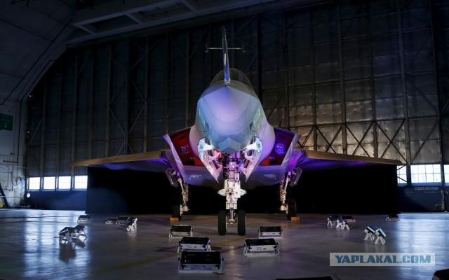 ВВС США считают, что один лишь вид F-35 поможет «сдержать» Россию
