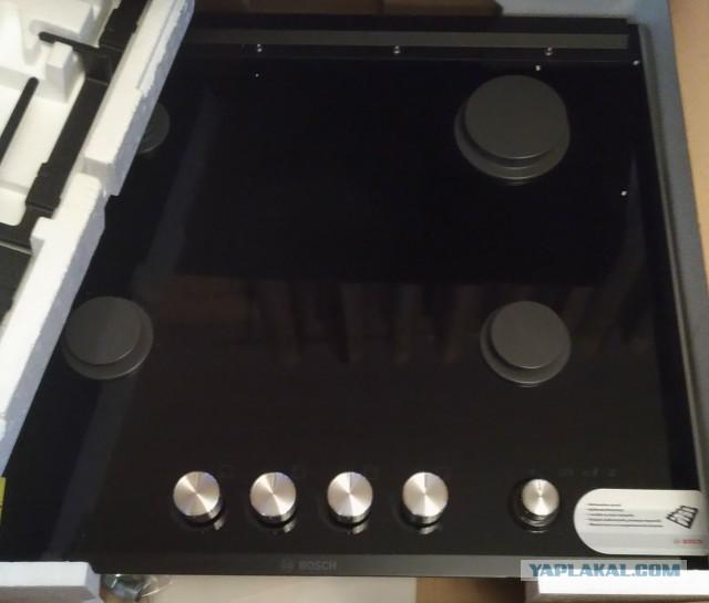 Газовая варочная панель Bosch PRP626M70E на обмен