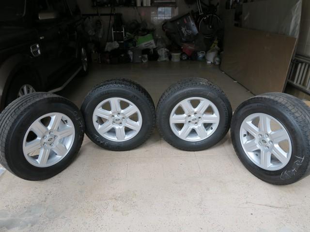 Продам колёса и коврики Land Rover Freelander 2