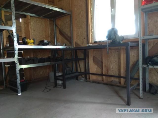 Постройка сарая/мастерской/гаража