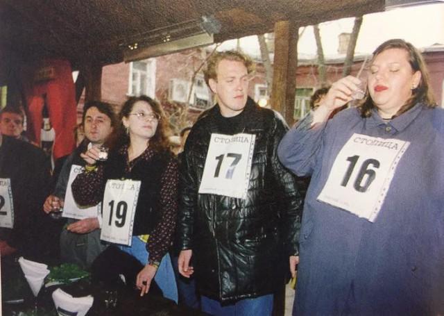 Как это было. Чемпионат Москвы по спортивному выпиванию. 1997 год