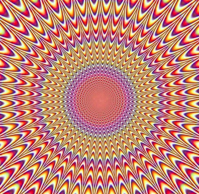Иллюзии для глаз как сделать