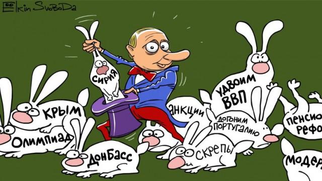 Актуальные карикатуры от ёлкина - коллекция 2011-12