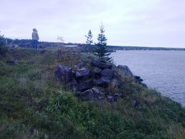 """Вепсский замок (""""Глаз Росомахи"""") - мощная финская крепость на реке Свири, у поселка Вознесенье"""