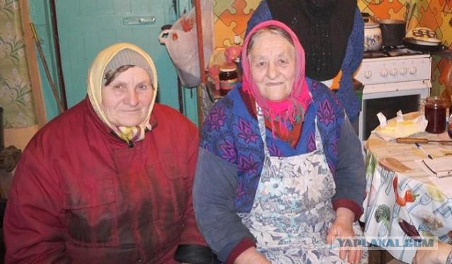 В орловской деревне брошенные старики хоронят умерших в корыте.