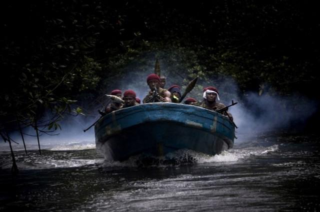 Нефтяные пираты из Нигерии