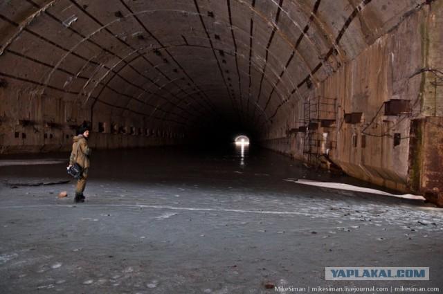 гаджиево подземная база лодок