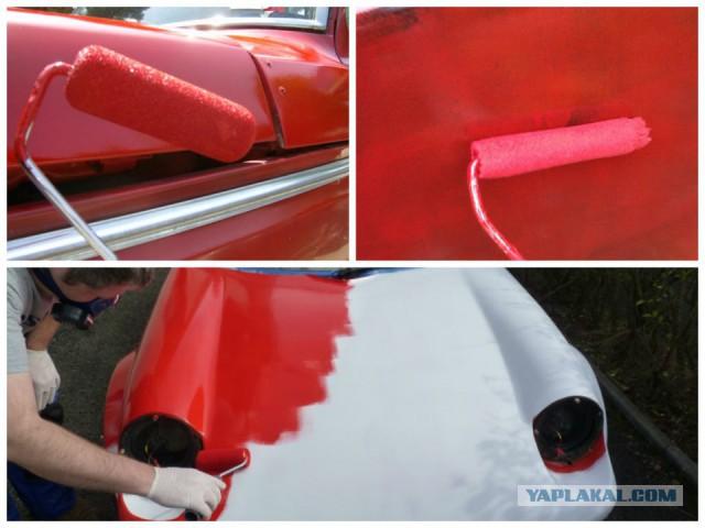Покраска авто алкидной краской своими руками