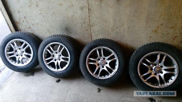 Комплект зимних колёс на Мерседес R15