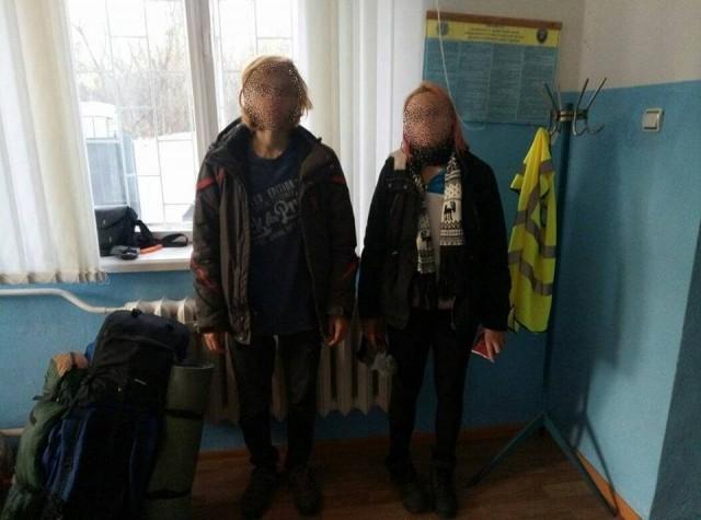 """В зоне отчуждения Чернобыльской АЭС задержаны двое """"сталкеров"""""""
