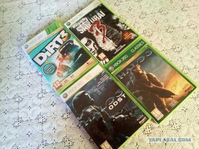 Для Xbox 360 игры лицензия продам или обменяю