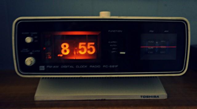 Флип-часы. Те самые часы из кино.