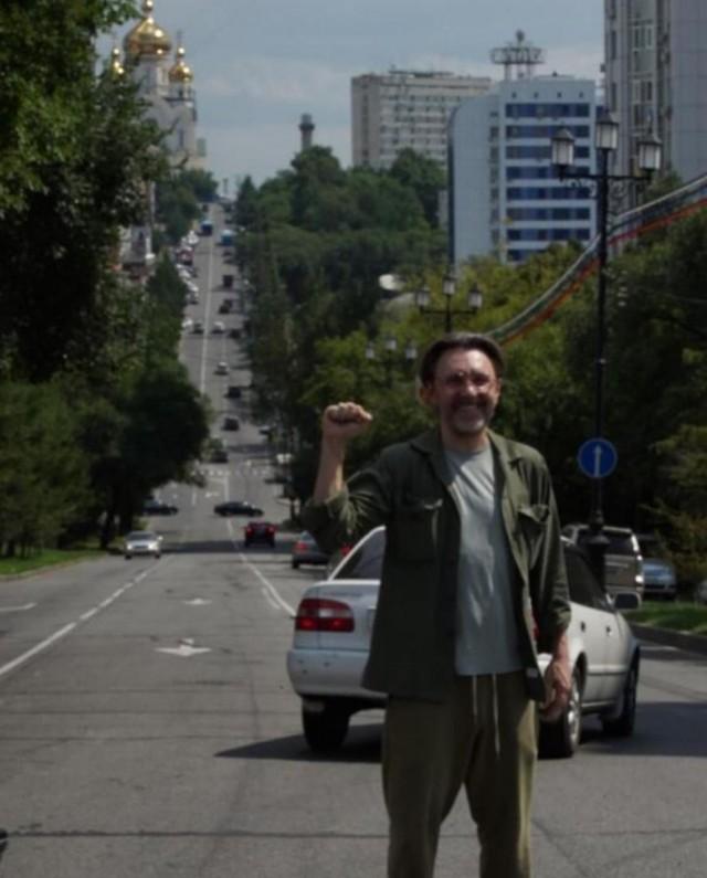 Сергей Шнуров приехал в Хабаровск