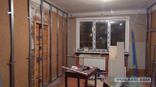 Ремонт убитой квартиры, часть 4 – гостиная