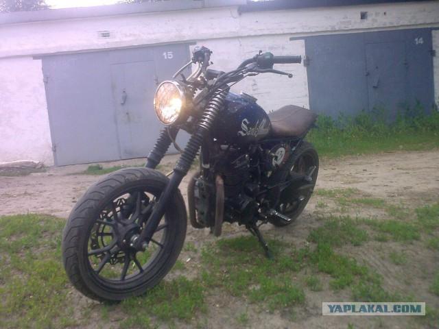 Мотоцикл Custom Scrambler