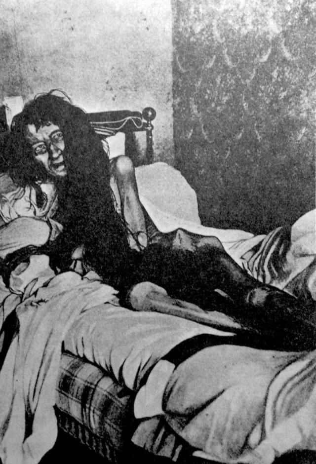 Страшные фотографии с жуткой историей