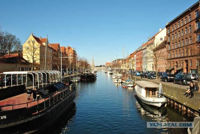 Прогулка по Копенгагену.