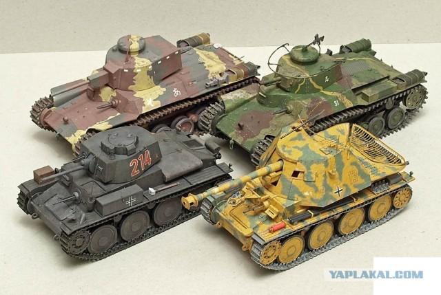 Как сделать немецкий танк