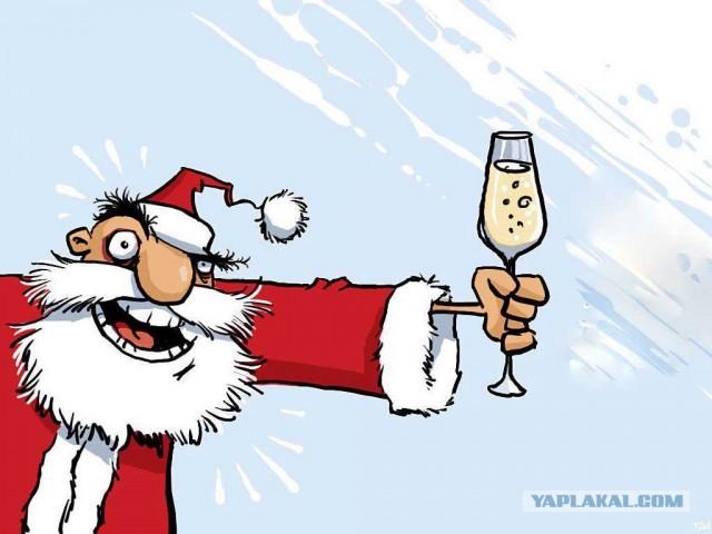 Новогодние приколы для компании на новый год