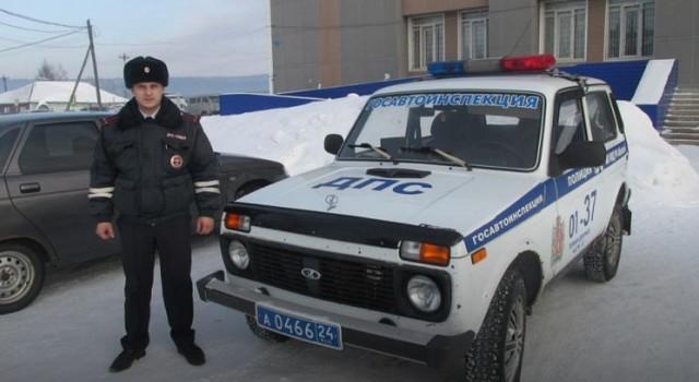 В Красноярском крае инспектор ДПС нашел крупную сумму денег и вернул ее владелице