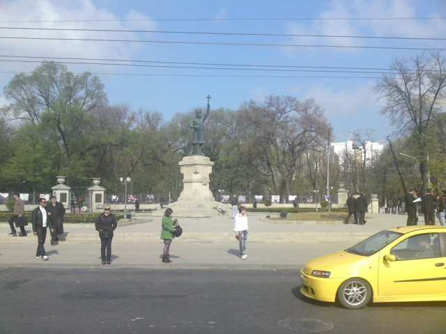 Поездка Россия - Молдавия
