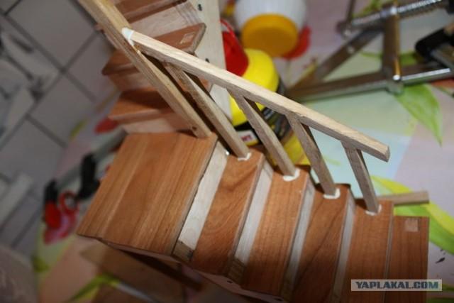 Как сделать своими руками лестницу для кукол своими руками