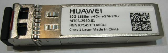 Продам Модуль SFP huawei 10G-1550nm-40km-SM-SFP-mtrs-2560