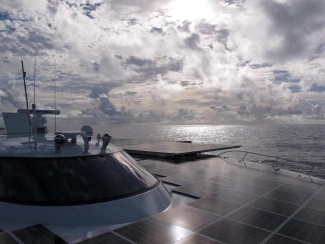 Солнечный макси-тримаран: 45-й день путешествия