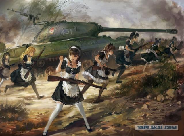 Чуть-чуть танков WoT