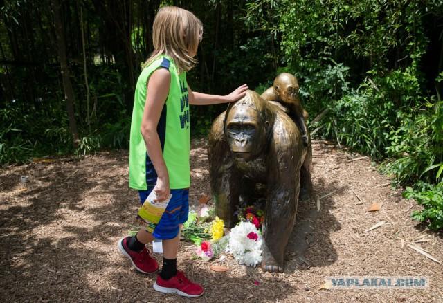Десятки тысяч людей просят наказать родителей ребенка из-за гибели гориллы