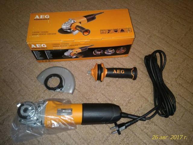 Продам Ушм (Болгарка) AEG 13-125 XE