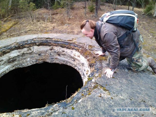 Пикник у заброшенной ракетной шахты в Гулбене