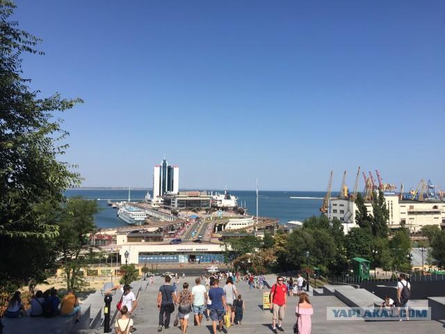 Одесские катакомбы в центре.