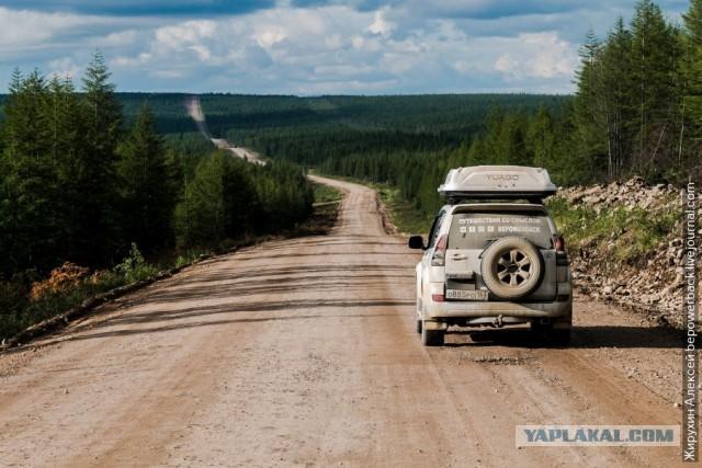 Есть ли дороги в России? Проехал до Магадана на машине и посмотрел
